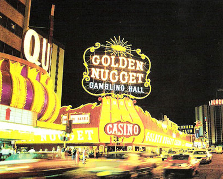 Kermit Wayne's Golden Nugget Sign
