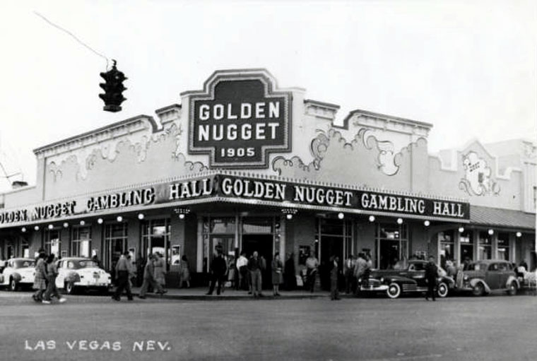 Golden Nugget Gambling Hall (Circa 1947) - Dick Porter's design