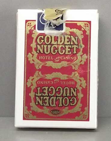 Golden Nugget Casino Playing Cards Red Tuck - Type 5