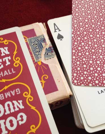 Golden Nugget Playing Cards Date Revealed Under The Tuck Box