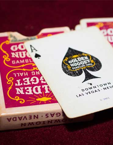 Golden Nugget Casino Playing Cards - Type 1
