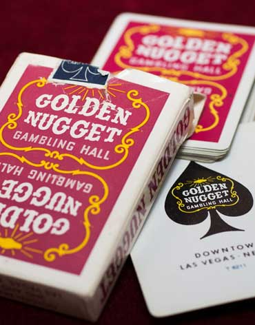 Golden Nugget Casino Playing Cards - Type 3