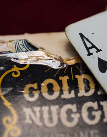 Golden Nugget Casino Playing Cards Ace - Type 1