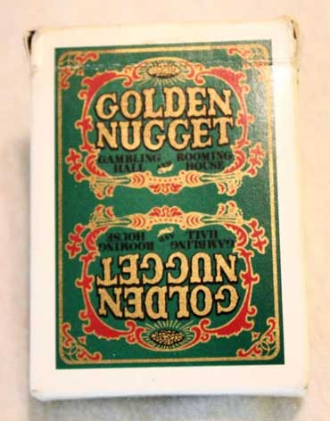 Golden Nugget Casino Playing Cards - Type 4