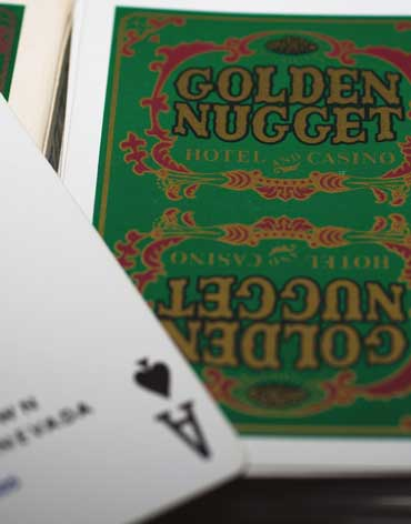 Golden Nugget Casino Playing Cards - Type 5