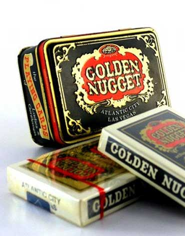 Golden Nugget Casino Playing Cards - Type 6