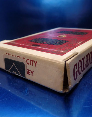 Atlantic City Golden Nugget Casino Playing Cards - Type 7