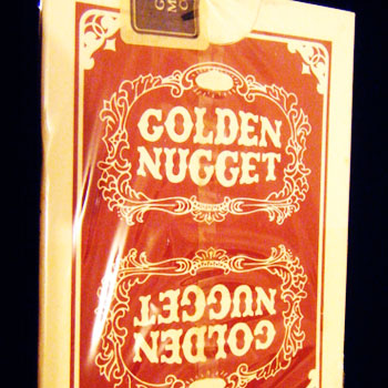 Golden Nugget Casino Playing Cards Gemaco Red - Type 9