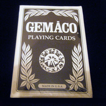 Golden Nugget Casino Playing Cards Gemaco Black - Type 9