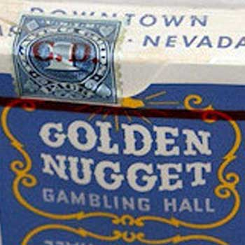 Golden Nugget Playing Cards - Type 1 / Gambling Hall - Downtown, LV