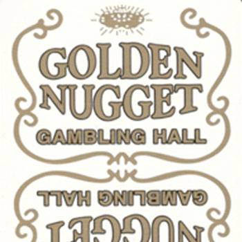 Golden Nugget Playing Cards - Type 10 / Gemaco