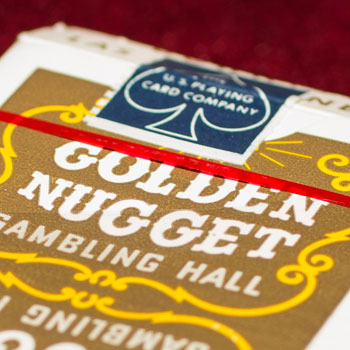 Golden Nugget Playing Cards - Type 2 / Gambling Hall - Downtown, LV