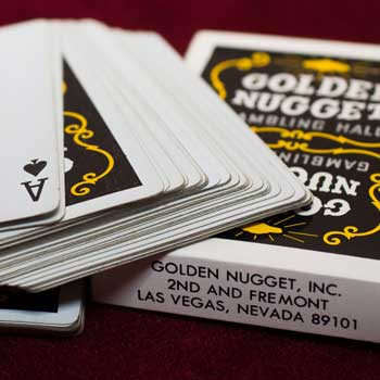 Golden Nugget Playing Cards - Type 3 / Gambling Hall - 2nd and Fremont