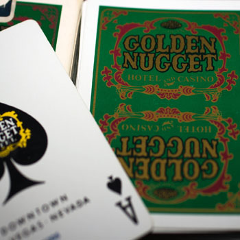 Golden Nugget Playing Cards - Type 5 / Hotel & Casino