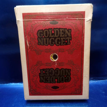 Golden Nugget Playing Cards - Type 7 / Atlantic City
