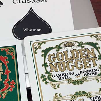 Golden Nugget Playing Cards - Type 8 / Whitman