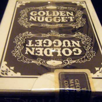 Golden Nugget Playing Cards - Type 9 / Gemaco
